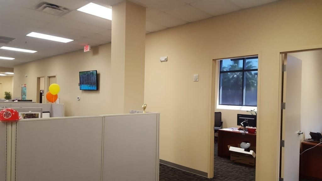 Remodel Sunbelt Staffing Office in Oldsmar by Hybrid Construction LLC