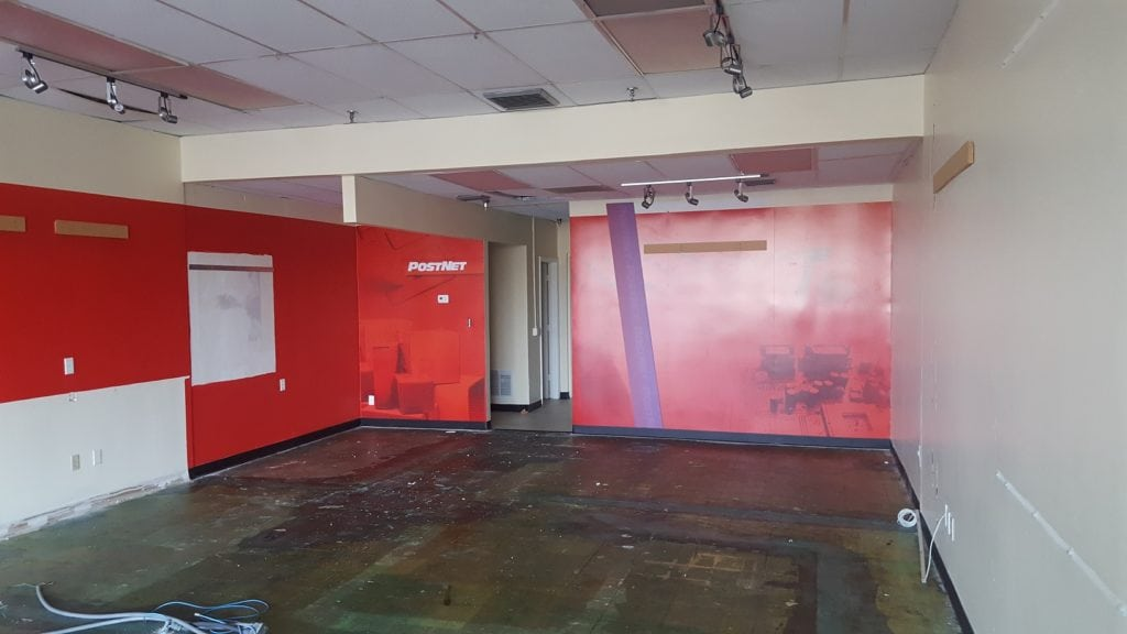 Retail Space build-out for the Planet Smoothie Chain in Tampa
