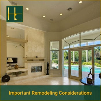 Important Considerations for Renovating