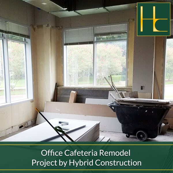 Tampa Bay Bathroom Remodeling: Office Cafeteria Remodel Project By Hybrid Construction