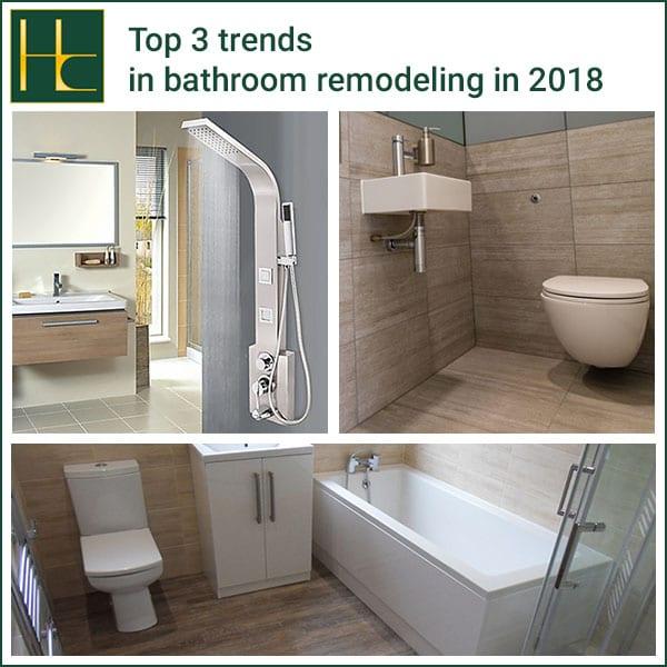Tampa Bay Bathroom Remodeling: Top 3 Trends In Bathroom Remodeling In 2018