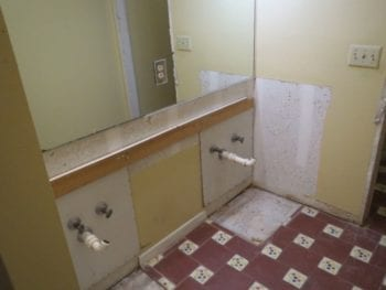 Demolition and Preparation for Your Bathroom Remodel