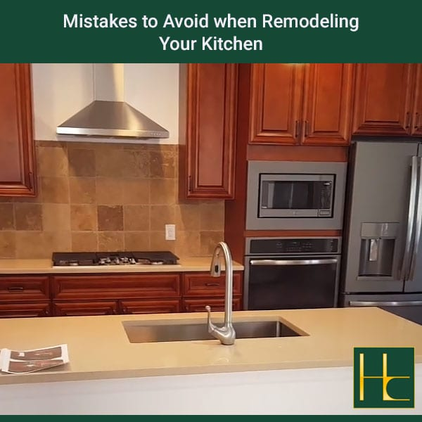 Mistakes To Avoid When Remodeling Your Kitchen