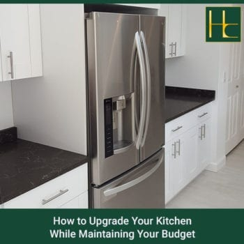 How To Upgrade Your Kitchen While Maintaining Your Budget