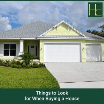 Things to Look for When Buying a House