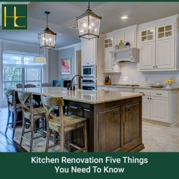 Kitchen Renovation: Five Things You Need To Know