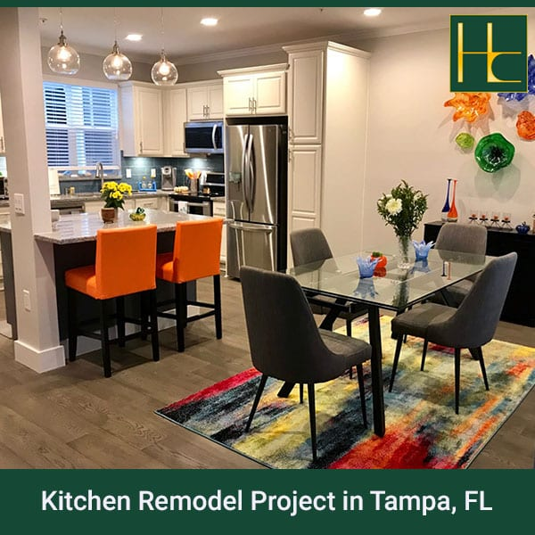 kitchen remodel project in tampa, fl - hybrid construction llc