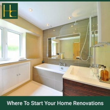 Where To Start Your Home Renovations