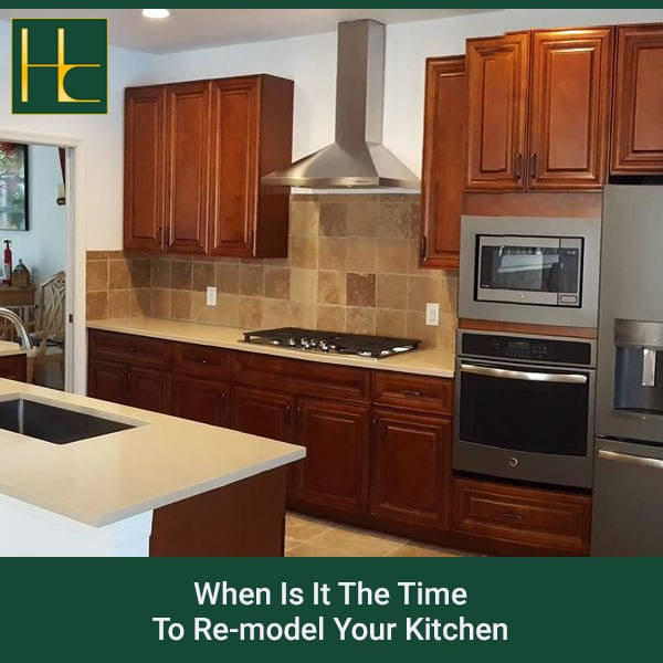 When Is It The Time To Re-Model Your Kitchen?