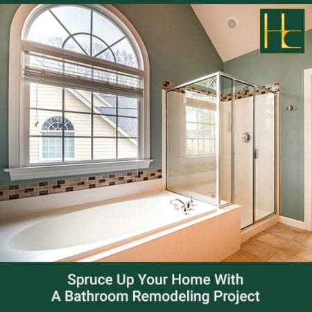 Spruce Up Your Home With A Bathroom Remodeling Project